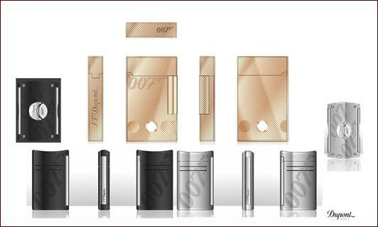 S.T. Dupont limited Edition James Bond Serie 2018